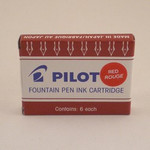 Pilot Cartridges Red