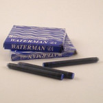 Waterman Cartridges Serenity Blue