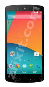 LG Nexus 5 Cracked Screen Repair