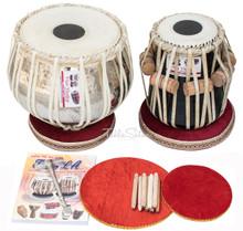 V VHATKAR Tabla, 4KG Chromed Copper Bayan, Shisham Dayan, Hammer BBD