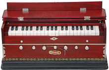 BINA NO. 9A Harmonium, 2 Reeds, 3.5 Octaves, 7 Stops, Coupler BCB