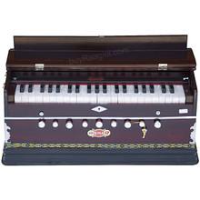 BINA Harmonium NO. 17 B, 2 Reeds, 3.5 Octaves, 9 Stops, Coupler AIG