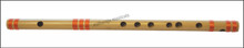 MAHARAJA Bansuri Scale F Natural Med. 14 Inch, Indian Bamboo Flute CGJ