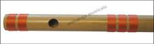 MAHARAJA Bansuri Scale D Natural Med. 17 Inch, Indian Bamboo Flute CFD