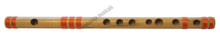 MAHARAJA Bansuri, Scale B Natural Med 10 Inch, Indian Bamboo Flute CEF