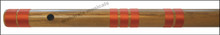 MAHARAJA Bansuri Scale C Natural Bass 35 Inch, Indian Bamboo Flute CEG