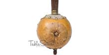 MAHARAJA Special Ik Taara Tumbi - Handmade Gourd Toomba, Tun Wood BIG