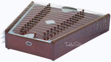 KANAI LAL & SONS Santoor, Shiv Kumar Sharma Style, Fiber Case, Brown, 31 Notes BHF