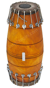 MAHARAJA Mridangam, Jackfruit Wood, Bolt Tuned, South Indian Drum BBI