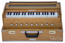 MAHARAJA Harmonium, Folding Safri, 9 Stop, A440, 42 Keys, Coupler AHH