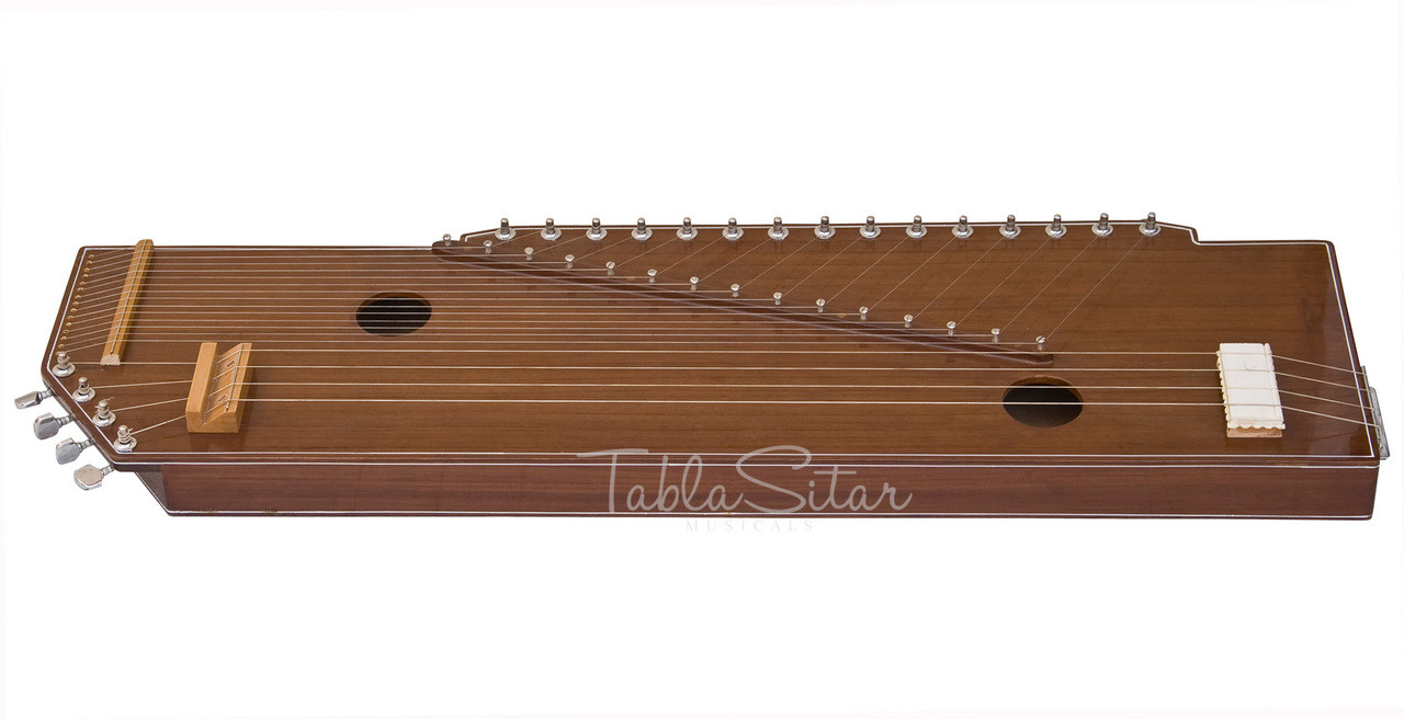 MKS Sur Tanpura (Swarmandal+Tanpura 2 in 1), 4 Strings, 36 Inches DIC
