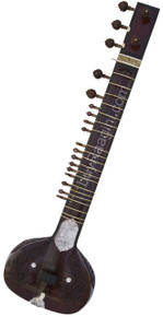 buy Rikhi Ram Sitar (Sanjay). Sitar, Ravi Shankar, Single Toomba, With Fiber Trolley for sale