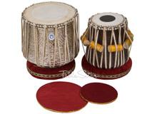 MAHARAJA MUSICALS Dhama Jori, Brass Dhama - Sheesham Dayan(Tabla) - ECJ