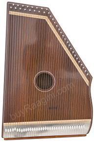 MKS Swarmandal, Natural Color, 36 Strings, 21 Inches