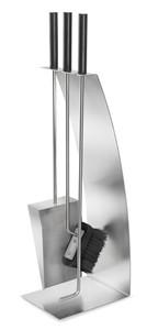 Blomus CHIMO Bow 4 pc. Fireplace Tool Set