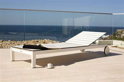 Harbour Outdoor Piano Sun Lounger