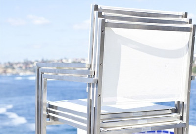 Harbour Outdoor Soho Stackable Dining Side Chair