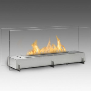 Vision II Linear Vent Free Fireplace SS