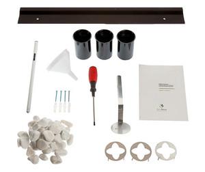 "Diamond 31"" wall mount fireplace accessories"