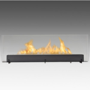 Vision III Linear Glass Fireplace