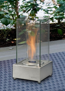 Cartier Tabletop Fireplace SS