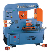 Scotchman Model DO120/200-24M-1, 120-Ton Dual-Operator Hydraulic Ironworker (1ph)