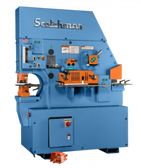 Scotchman Model 8510-24M-1, 85-Ton Hydraulic Ironworker (1ph)
