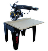 """Original Saw Co. 12"""" Radial Arm Saw, Contractor Series, 3hp/3ph"""