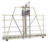Safety Speed Mfg H5 Vertical Panel Saw: 3 1/4 Hp, 120V, 15 amps with Silver Package