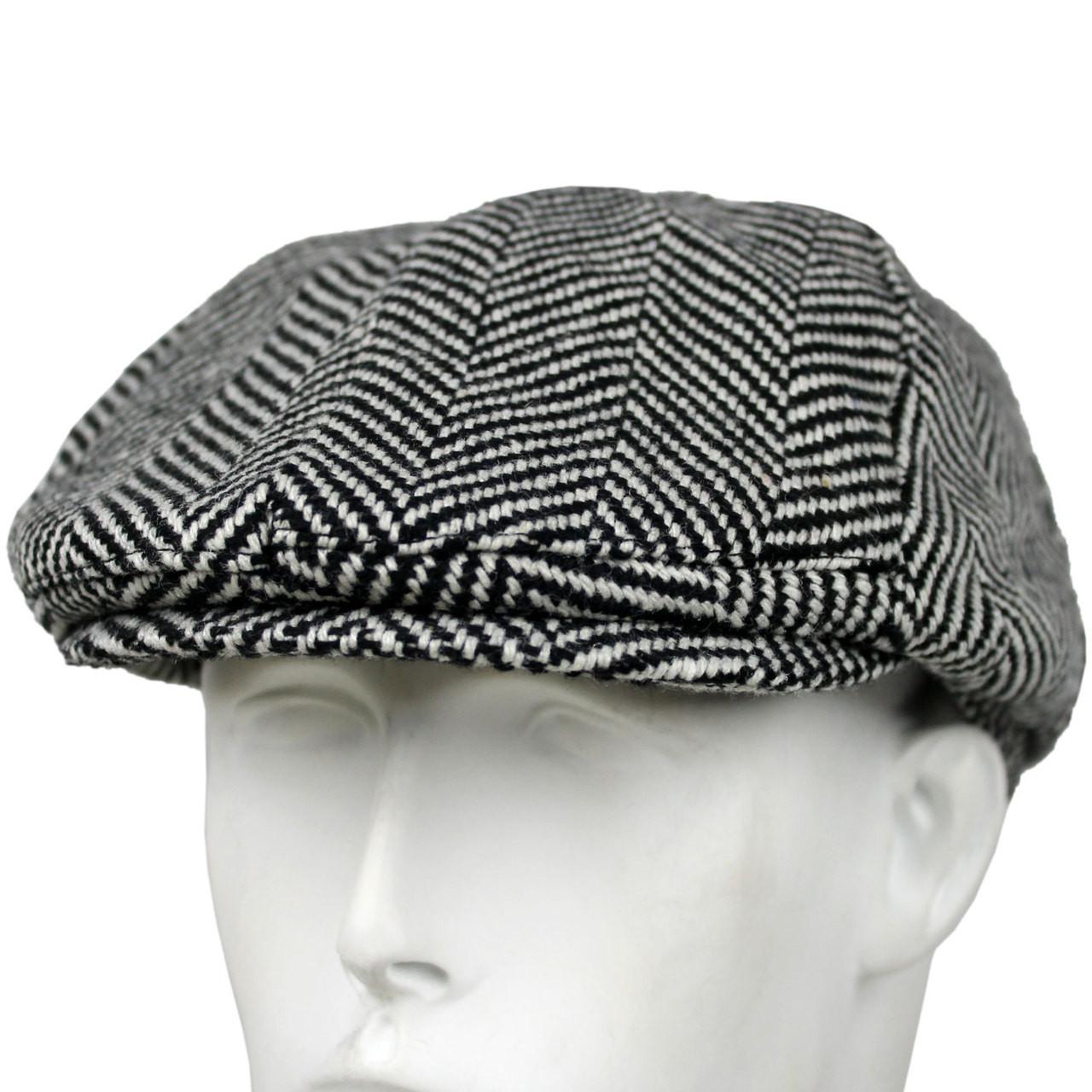 Fourstar Hat PAPERBOY BLACK WHITE FLAT CAP L XL 8d11cedc1e7