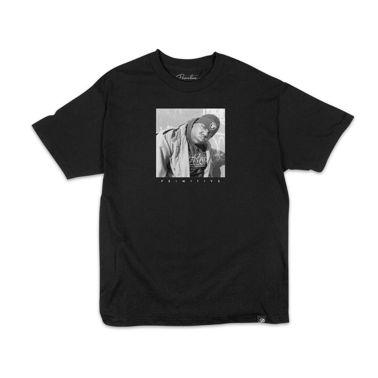 e4f1e88fb94a Primitive Shirt BIGGIE RAIDERS BLACK
