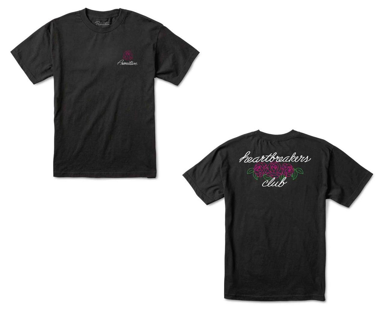 07e655069a78 Primitive Shirt Heartbreakers Rosey Black