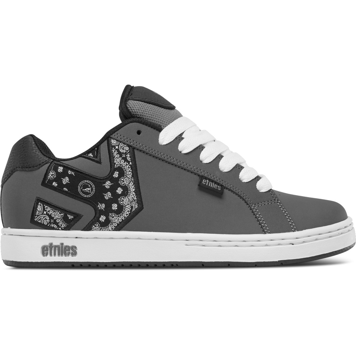 new arrivals limited price big collection Etnies Shoes Metal Mulisha Fader Dark Grey/Black/White