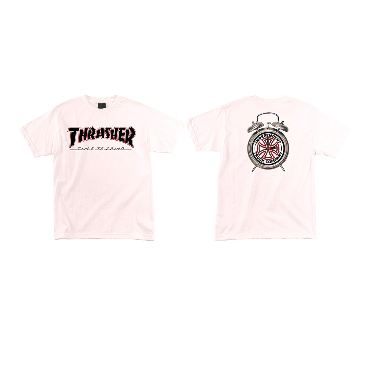 514723d86f76 ... Independent Shirt Thrasher TTG White. Image 1. Click to enlarge