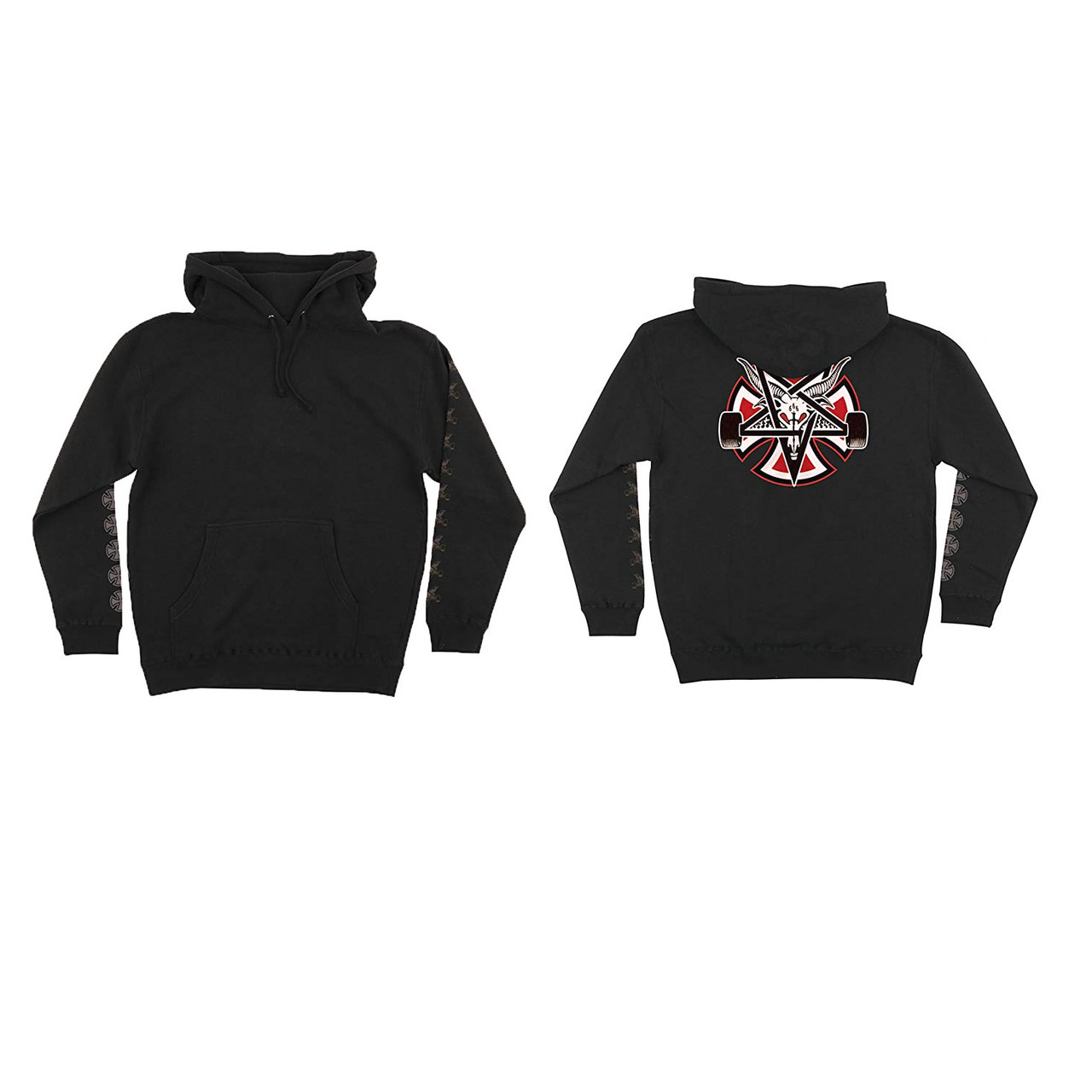 ... Independent Sweatshirt Thrasher Pentagram Cross Black. Image 1. Click  to enlarge 31ef29161612