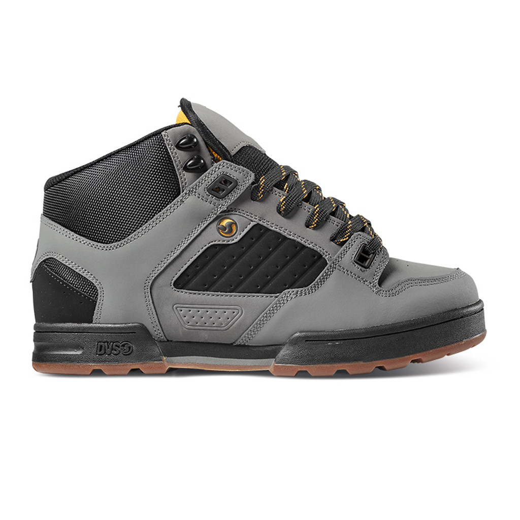 3e0ec39fe792 ... DVS Shoes Militia Boot Gargoyle Black Gold. Image 1. Click to enlarge