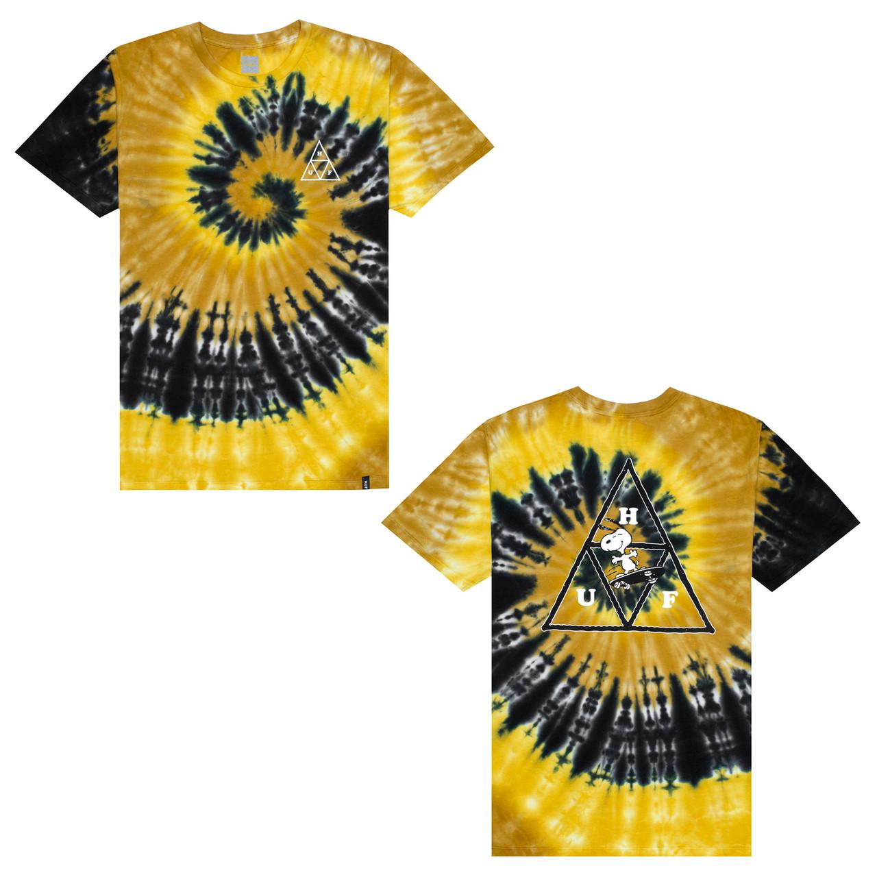 2ca2bf3c1d6fa3 ... Huf x Peanuts Shirt Snoopy Skates Yellow. Image 1. Click to enlarge