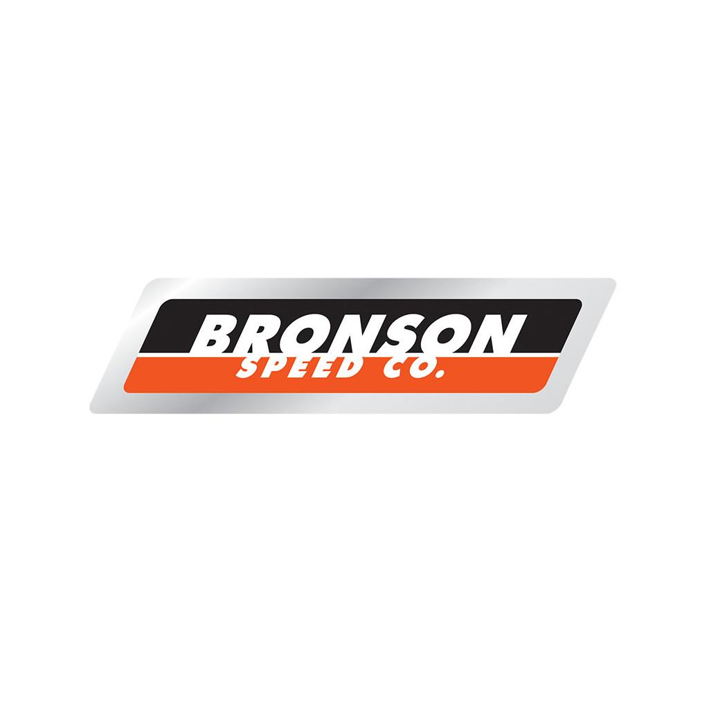 Bronson Sticker Strip Foil Black/Orange 4 9