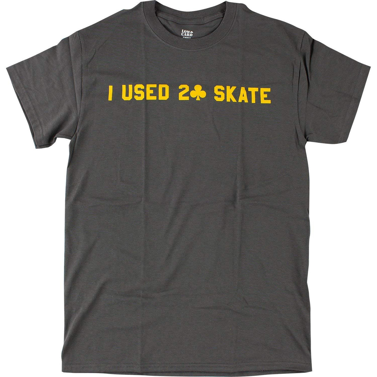 4a6a14b9f1e9 ... Clothing; Lowcard Shirt I Used 2 Skate Grey. Image 1. Click to enlarge