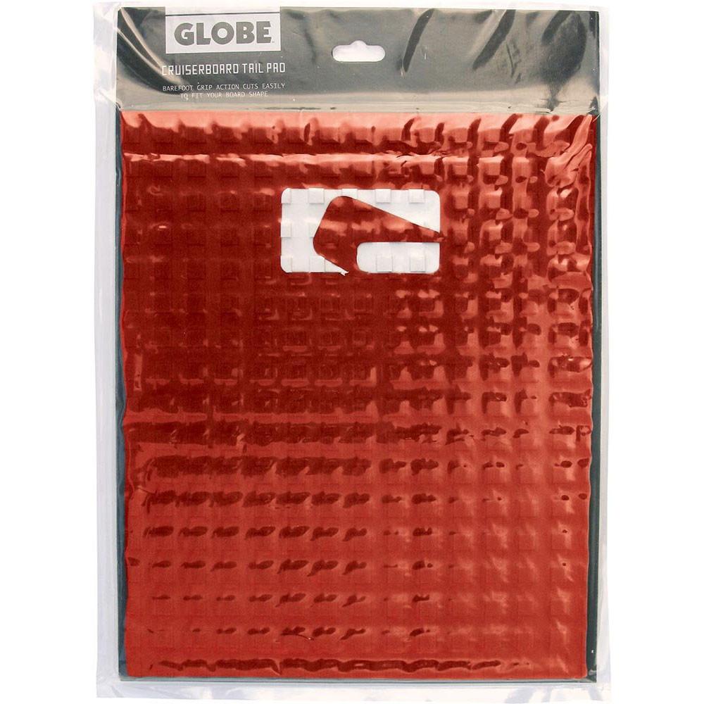 Globe EVA Foam Griptape Tail Pad for Barefoot Grip - Red