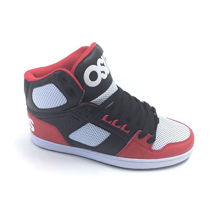 076be93bf5 Osiris Shoes NYC 83 CLK Black/Red/White