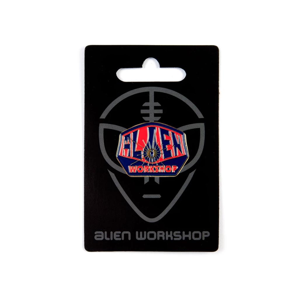 Alien Workshop Lapel Pin Og Logo