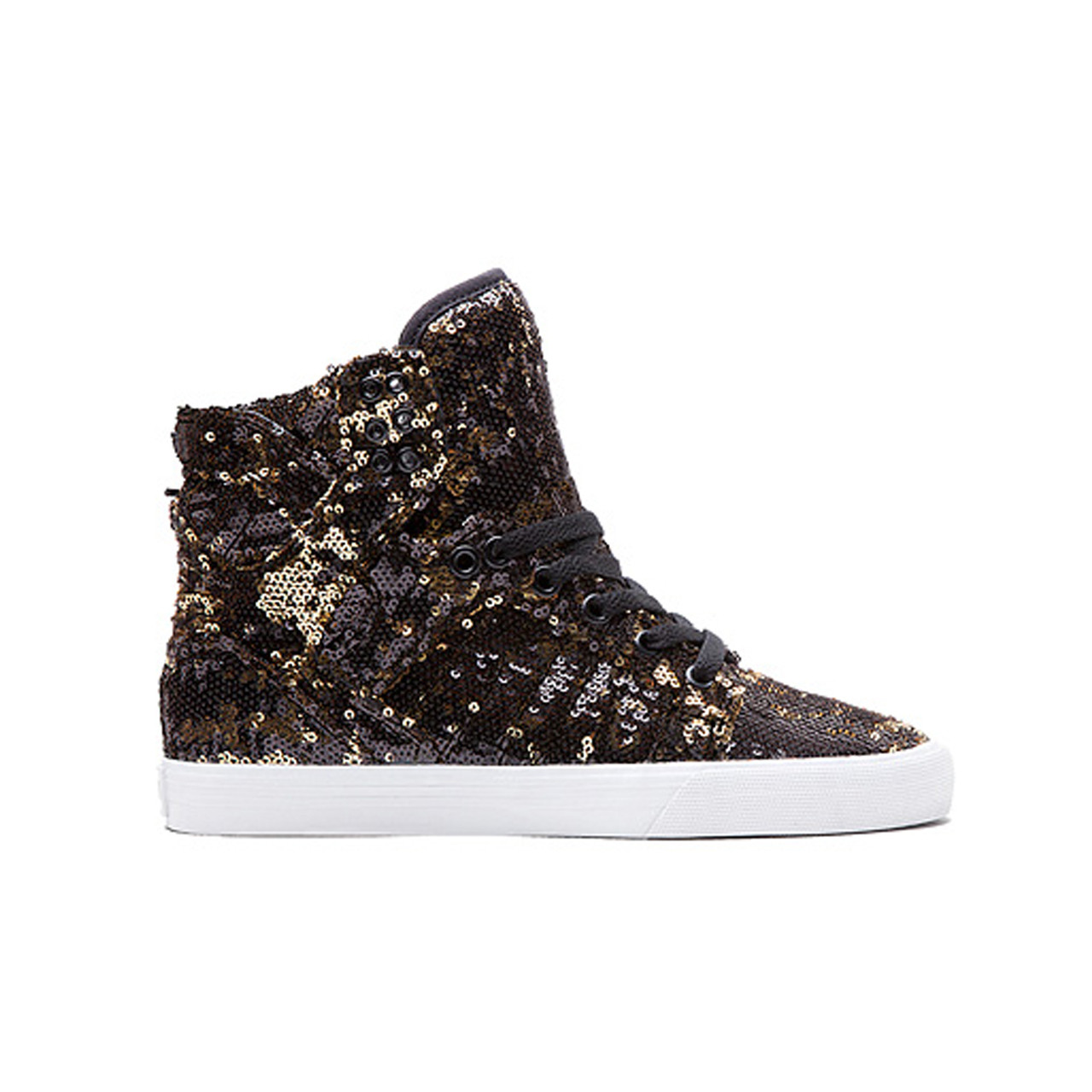 8474ef3354a ... Women's Supra Shoes Skytop Black/Gold/White. Image 1. Image 2. See 1  more picture