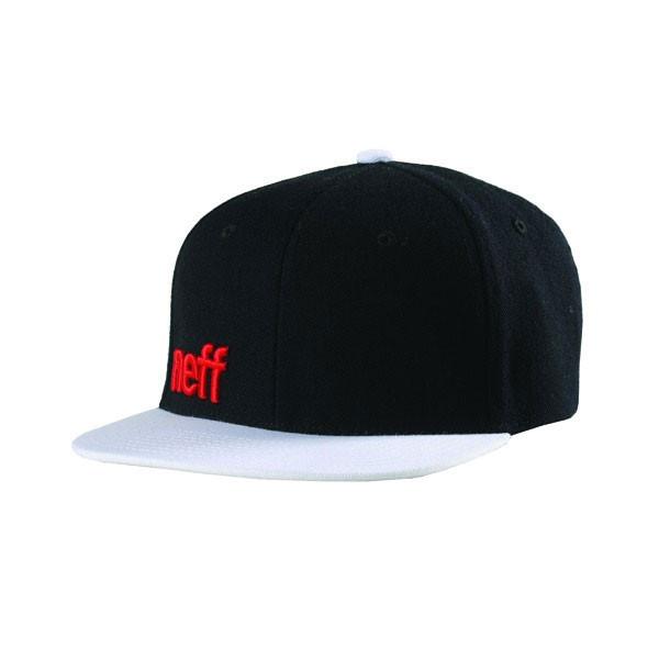 91e43f20d8dcb9 ... Neff Hat Daily Cap Black/White Snapback. Image 1