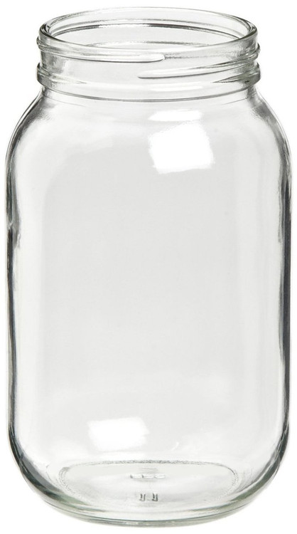 Gast AA125 Muffler Filter Glass Jar