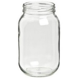 Gast AA125A Muffler Filter Glass Jar 7 oz.