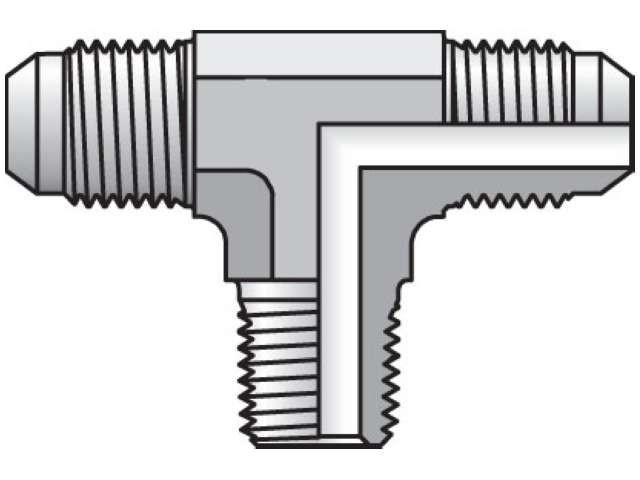 Parker 6 BTX-S Triple-Lok Tube Nut 3//8 JIC Steel