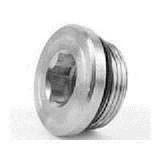 Parker VSTI1EDCF Hollow Hex Plug G 1 A Male BSPP Steel