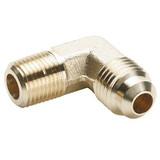 Parker 149F-4-4 Male 90° Elbow 1/4 Tube OD X 1/4 NPTF Brass