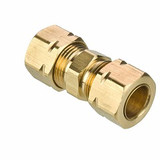 Parker 62CA-5 Compress-Align Union 5/16 Tube OD X 5/16 Tube OD Brass